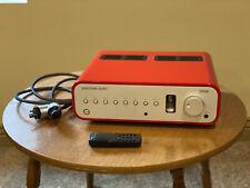 Custom Ferrari Red Peachtree Nova High Current Integrated Amp