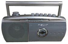 Radio cassette Nevir Nvr-434 T plata
