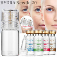 Hydra 20 Micro Needle Applicator Bottle Stamp Serum Essence Injection 0.6/1.5mm
