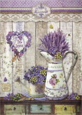 Rice Paper for Decoupage Scrapbook Craft Sheet Provence Watering Cans