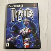 TimeSplitters (Sony PlayStation 2, 2000) Complete - PS2 - Video Game Free Ship