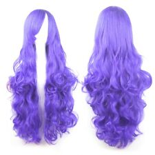 HOT Women Fashion Lady Anime Long Curly Wavy Hair Party Cosplay Full Wig 2019