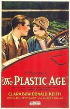 The Plastic Age - 1925 - Clara Bow Roland - Vintage b/w Pre Code Silent Film DVD