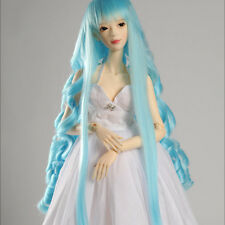 "Dollmore 1/3 BJD dollfie SD wig  (8-9)""Sora Wave Wig (Sky) SD size"