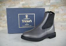Tricker's 37,5 4,5 Stiefeletten Chelsea Boots Schuhe grau NEU ehem UVP 520 €