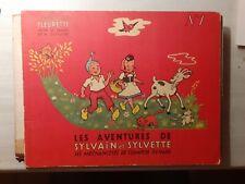 SYLVAIN ET SYLVETTE n° 1 - Albums FLEURETTE 1953