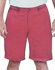 Pebble Beach Dry Luxe Performance Men's Elastic Waistband Shorts Size 40