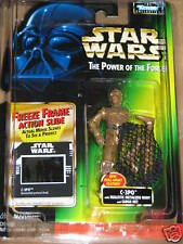 Pull Apart C-3PO - Freeze Frame - Power of the Force **Star Wars**  UNOPENED