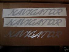 two navigator decal sticker lincoln  no reserve limo buy 2 get 2 for free