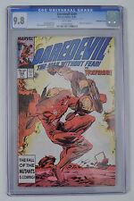 Daredevil 249 1st Series Marvel 1987 9.8 CGC Quad Quadruple 4 Cover Wolverine