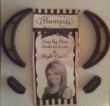 4pc Bumpits Big Happie Hair Volumizing Inserts - Brunette