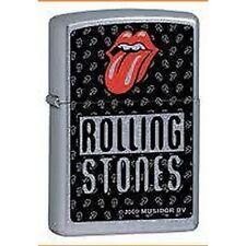 Accendino ZIPPO benzina antivento Music Edition Rolling Stones Lighter bocca