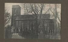 St Anne's Church Fence-in-Pendle Vintage Postcard.  Fence.  L.205