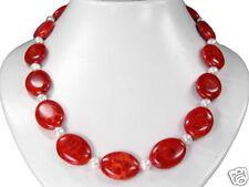 de diseño coral esponja Collar con perlas de Agua Dulce