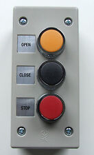3BXT Exterior Surface Mount Control Stations Commercial Garage Door Wall Buttons