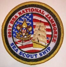 Sea Scout Ship Exhibit Staff Patch 2017 National Boy Scout Jamboree - MINT