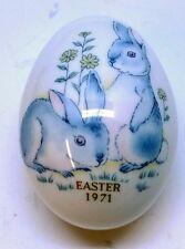 Vintage Noritake Bone China: Easter Egg 1971 Made in Japan