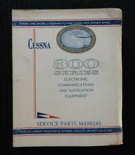 1964-66 CESSNA 300 Séries Nav / Com Émetteur-récepteur Service & Parts Manuel