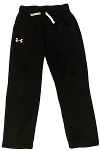 Under Armour Cold Gear Boys Black Sweatpants Size YMD (10-12)