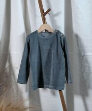 Poudre Organic Velour Top In Iron Gate - Size 2 - Great Condition