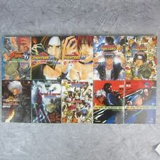 THE KING OF FIGHTERS Lot of 10 Novel 96 - 2001 A. URESHINO Japan Book AP*