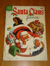 SANTA CLAUS FUNNIES #1 GVG (3.0) 1952 DELL GIANT CHRISTMAS COMIC E