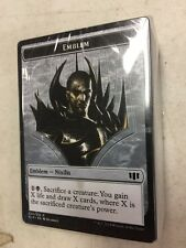 Magic The Gathering Sworn To Darkness 2014 Commander Deck LOOSE For Card Game