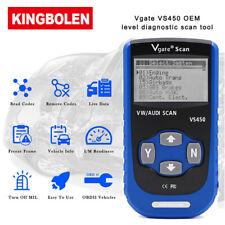 VS450 CAN OBD2 Diagnostic Scanner Reset Car Fault Code Reader Fit For AUDI