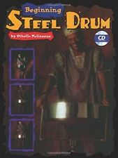 """BEGINNING STEEL DRUM"" INSTRUCTIONAL MUSIC BOOK/CD-METHOD-DRUMS-BRAND NEW SALE!!"