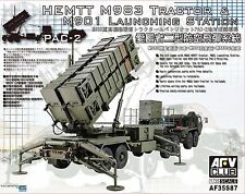 Station de lancement Missiles Patriot MIM-104 PAC-2 - KIT AFV CLUB 1/35 n° 35S87