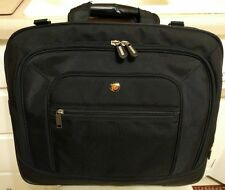 Targus Black Laptop Messenger Briefcase Courier Tote Bag