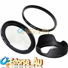 67mm Metal Lens adapter + UV + LH-DC60 For Canon SX20 SX30 SX40 HS FA-DC67A