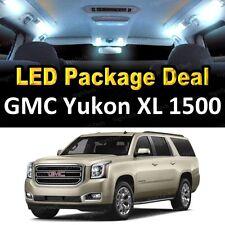 For 2001 - 2006 GMC Yukon XL 1500 LED Lights Interior Package Kit WHITE 18PCS