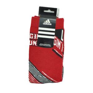 NCAA Louisiana Ragin Cajuns C239Z Mens Shoe Size 9-11 Sock Long Adidas Sports
