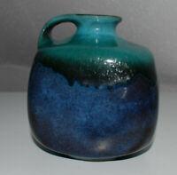 Gräflich Ortenburg Keramik 1045/13 Design Vase 70s 60s WGP Fatlava  MCM Vintage