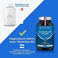 Complement  Magnesium Marin Vitamine B6 Antifatigue Fabrication France Sante