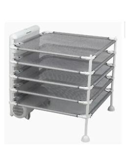 Hamilton Beach 11510 4-Shelf Garment Drying Station Quick Fast Dry Laundry NEW