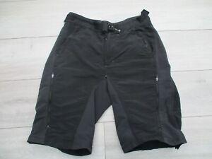 Endura Mens Singletrack Baggy Cycling Bike Shorts M with Pockets Black