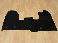 Ford Transit Custom (4 Fixings) (1 Piece) 2015-on Fully Tailored Car Mats Black