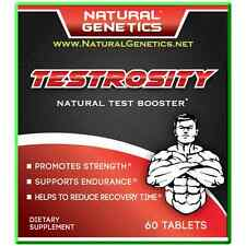 NEW Best Natural Testosterone Booster Testrosity - Strength Muscle Gains & Power