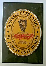 Guinness Extra Stout - St James Gate Vintage Metal Sign