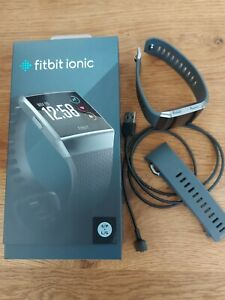 Fitbit Ionic Dunkelgrau