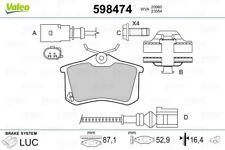 Set di PASTIGLIE DEI FRENI PASTIGLIE FRENO ANTERIORE POSTERIORE Audi a6 4f c6 BJ 04-11