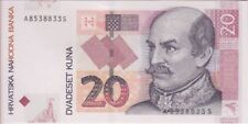 Croatia Banknote P39b 20 Kuna 9.7.2012, UNC