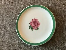 """1 Syracuse China Greenbrier hotel rhododendron pink Railroad 10"""" Dinner Plate"""