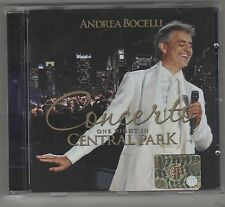 ANDREA BOCELLI CONCERTO ONE NIGHT IN CENTRAL PARK CD NUOVO!!!