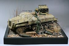 1/35 Built Tamiya German Sd.Kfz.4/1 Panzerwerfer 42 SP Rocket Launcher Diorama