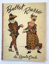 Vintage Ballet Russe de Monte Carlo 1940-41 Season Program