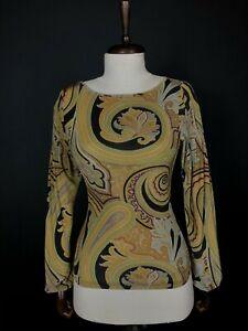 Etro Women's Long Sleeve Shirt Size 42