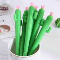 2PC 0.5mm Novelty Cactus Gel Pens Kids Pen School Student Office Stationery HOT